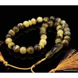 Islamic 33 Baltic amber Prayer 12MM ROUND beads
